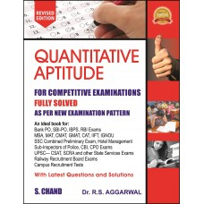 Quantitative Aptitude for Competitive Examinations (latest edition)