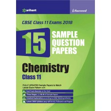 CBSE 15 Sample Paper CHEMISTRY for class 11th