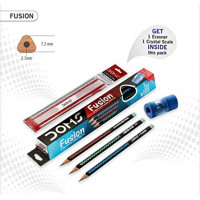 DOMS FUSION EXTRA SUPER DARK PENCILS