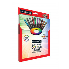 Classmate ITC Octane Colourburst Pen Set - Pack of 10