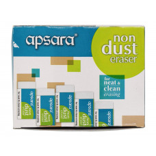APSARA Non-Dust Eraser (Pack of 20)