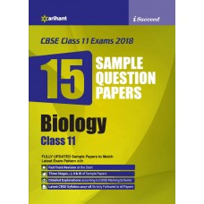 CBSE 15 Sample Paper BIOLOGY for class 11th