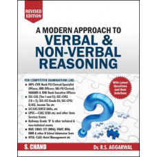 A Modern Approach To Verbal and Non-verbal Reasoning by Dr. R.S.  Aggarwal
