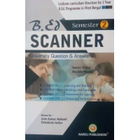 B.Ed Scanner 2nd Semester English Version   (Aaheli Publishers)