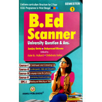 B.Ed Scanner University Question & Ans 1st Semester English (Aaheli Publication)