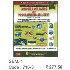 Computer Operating and Programming Assistant for I.T. & I.T.E.S Sector | ITI Sem 1 (Computech)