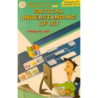 Critical Understanding of ICT B.Ed Semester IV Aaheli Publisher