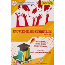 Knowledge and Curriculum B.Ed Semester IV Aaheli Publisher