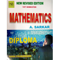Mathematics by A.Sarkar for 1st Semester Diploma