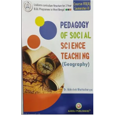 Pedagogy of Social Science Teaching Geography English Version 2nd Semester