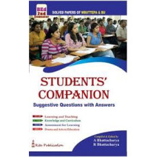 The Students Companion English version 2nd Semester B Ed Solved Papers of WBUTTEPA and BU