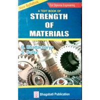 Strength of Materials for Diploma Engineering by Bhagwati Publication