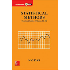 Statistical Methods (Combined edition volume 1 & 2) by N Das (Author) NEW EDITION