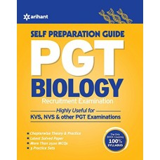 PGT Guide Biology Recruitment Examination Paperback