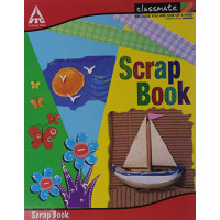 Classmate scrap book(28*22 cm) 32 Pages  (PACK OF 6)