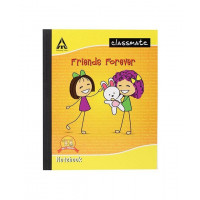 Classmate four line with gap notebook (24*18 cm) 172 Pages  (PACK OF 6)