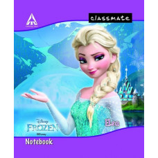 Classmate Disney notebook squares -0.5 (24*18 cm) 172 Pages  (PACK OF 6)