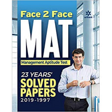 Face 2 Face MAT with 23 Years' (1997-2019) Mat Book for MBA