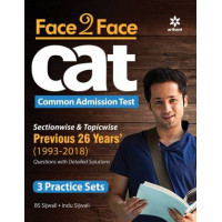 CAT Common Admission Face To Face Mat With 25 Yrs. Solved Papers 2019-1997