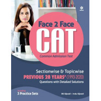 Face To Face CAT book with solved papers (Arihant Publication)