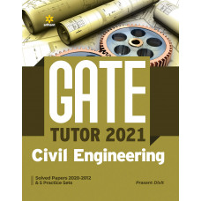 GATE 2021 Civil Engineering by Prasant Dixit (Arihant Publications)