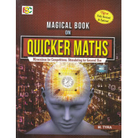 Quiker Math Magical Book (quicker maths for competitive exams)