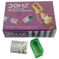 Doms Extra Long Pencil Sharpener-Pack of 20Pc