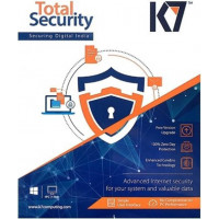 K7 Total Security Antivirus 4 PC and 1 Android Device 1 Year