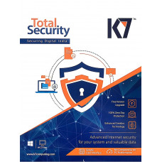K7 Total Security 2016 5 Pc 1 Year