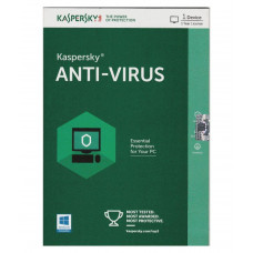 KASPERSKY Anti-Virus Latest Version - 1 PC, 1 Year