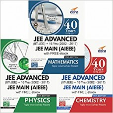 40 Years IIT-JEE Advanced+16 yrs JEE