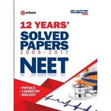 12 Years' Solved Papers CBSE AIPMT & NEET Paperback