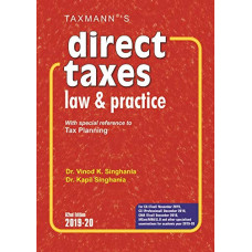 Direct Taxes Law & Practice  With special reference to Tax Planning