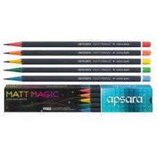 Apsara matt magic extra dark pencil