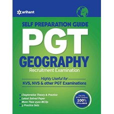 PGT Geography Recruitment Examination Self Preparation Guide