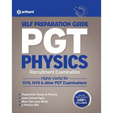 PGT Guide Physics Recruitment Examination Paperback