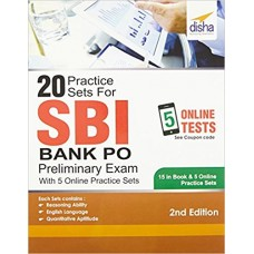 20 Practice Sets for SBI PO Preliminary Exam