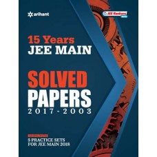 15 Years' Solved Papers JEE Main Paperback