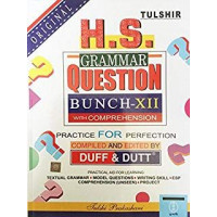 Tulshir H.S.GRAMMAR QUESTION BUNCH BY DUFF & DUTT CLASS 12