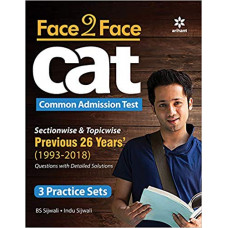 Face To Face CAT book 26 years solved paper 2019