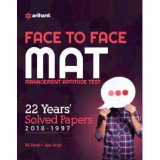 Face To Face Mat With 22 Yrs. Solved Papers 2018-1997