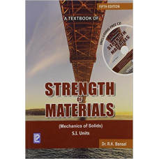 A Textbook Strength of Materials Paperback
