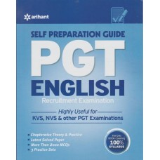 PGT English Recruitment Examination Self Preparation Guide