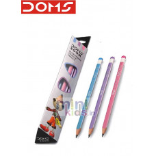 DOMS ZOOM ULTIMATE DARK TRIANGLE PENCILS
