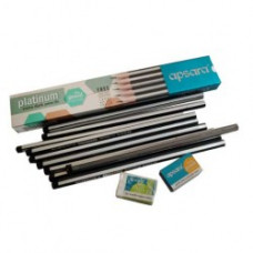 Apsara platinum extra dark pencils